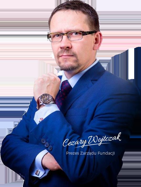 Cezary Wojtczak Prezes Zarządu Fundacji